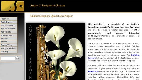 Amherst Saxophone Quartet