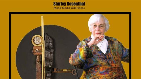 Artist Shirley Rosenthal