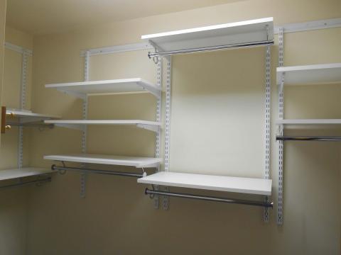 Master Bedroom closet (view 1)